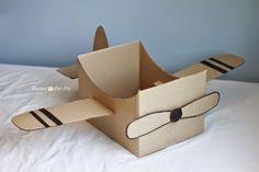 How To Put A Box Together How To Make A Cardboard Airplane 2 I Wanna Be A Fun Momma
