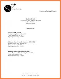 bunch ideas of resume cover letter examples with salary