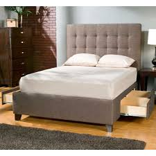 beds outstanding upholstered bed with storage upholstered