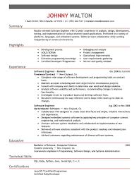 Senior Software Engineer Resume Sample by Senior Software Developer Resume Free Resume Example And Writing