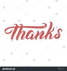 thanksgiving congratulations thanks handlettering congratulations thank you modern stock vector