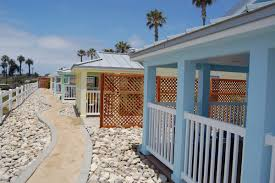 new cottages at camp pendleton beach facilitated by the victory