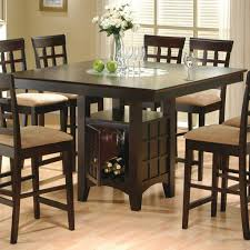 coaster dining room table height dining room table coaster mix and match cappuccino counter