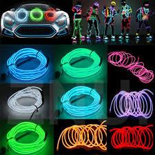 Strip Led Lights Ebay by El Wire Lighting Ebay