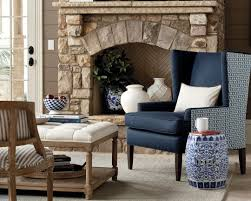 navy the new neutral how to decorate ballard designs style studio gracie wingback chair ballard designs