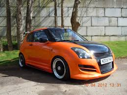 modified cars modified suzuki swift orange fast and furious u003c3