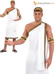 mens julius caesar costume roman toga greek fancy dress