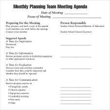 staff meeting agenda template 5 staff meeting agenda samples