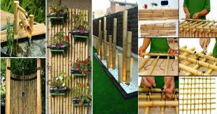 Bamboo Backyard How To Use Bamboo Tree For Garden And Backyard Decorations