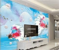 3d Wallpaper Home Decor Online Get Cheap 3d Wall Murals Peacock Wallpaper Aliexpress Com