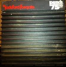 rockford fosgate punch 75hd old 75 amp amplifier nice