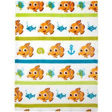 disney nemo day at sea infant bedding collection value bundle
