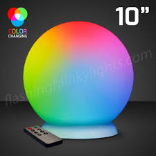 10 floating led with charger remote color change lights