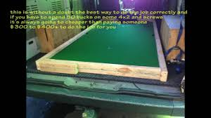 used pool tables for sale indianapolis how to move pool table 1 piece slate downstairs youtube