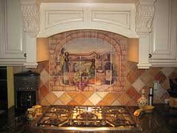 Decorative Tile Backsplash Kitchen Tile Ideas Tuscan Wine - Backsplash mural