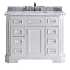 Marble Bathroom Vanity Tops by 38 46 In Vanities With Tops Bathroom Vanities The Home Depot