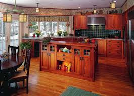 Arts And Crafts Kitchen Design Cabinets Period U0026 Revival Craftsman Kitchen Craftsman And