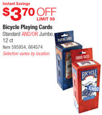 costco deal bicycle cards 3 70
