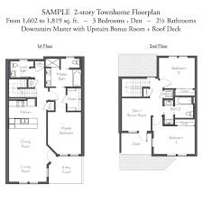 Deck Floor Plan by Evanston Court Floor Plans