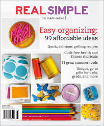 real simple magazine covers real real simple magazine 1 issue