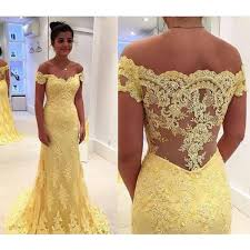 yellow dress sweep prom dresses yellow sweep evening dresses