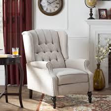 cloth recliners wayfair ca