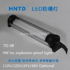 explosion proof led work light 4w 110v 220v led machine tool explosion proof l sealed waterproof
