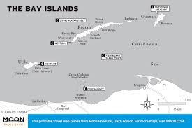 Map Of Southern Caribbean by Printable Travel Maps Of Honduras Moon Travel Guides