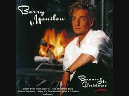barry manilow christmas song youtube