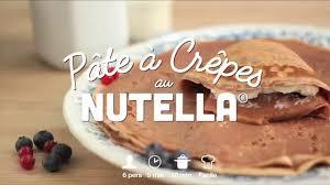 cuisine az crepes pâte à crêpes au nutella cuisineaz