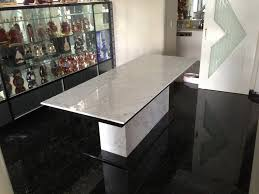 Black Marble Dining Room Table by Dining Tables Top Stone Dining Table Design Stone Topped Dining