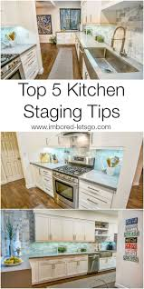 best 25 kitchen staging ideas on pinterest kraftmaid kitchen top 5 tips for staging your kitchen to sell