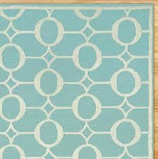 arabesque indoor outdoor rug in aqua everything turquoise