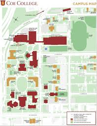 Armstrong Map Coe College Campus Map Interactive