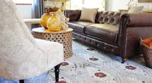 Living Room With Area Rug by Homegoods Area Rug