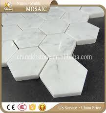 2017 kb sale carara white 2 inch hexagon mosaic marble