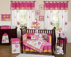 Bright Pink Crib Bedding by Home Design The Peanut Shell Ba Crib Bedding Set Purple