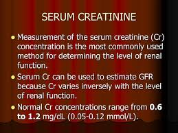 Serum Cr ppt creatine and creatinine powerpoint presentation id 6015865