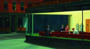 la nuit au bureau edward hopper la peinture d edward hopper expliquée aux enfants