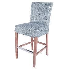 rectangle louis gray counter stool kirklands