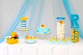 Rubber ducky baby shower ideas for girl