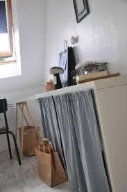 rideau placard cuisine rideau pour cuisine rideaux meuble inspirations et meuble a rideau
