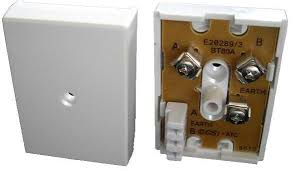 bt 80a junction box 3 way idc to 3 way connectors