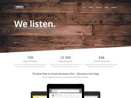 36 free one page html5 website templates templatemag pinterest