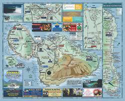 Iao Valley State Park Map by Kahului Maui Hawaii Usa Cruise Port Of Call