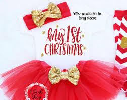 my christmas baby girl christmas etsy
