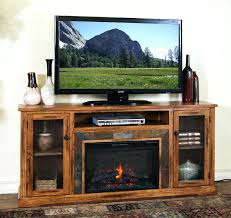 electric fireplace tv stand oak nice patriotic inside idea 11