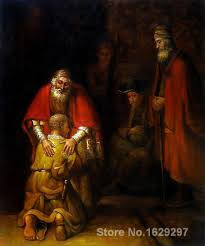 return of the prodigal son rembrandt van rijn painting for sale