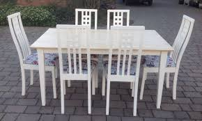 shabby chic dining table and chairs home design ideas