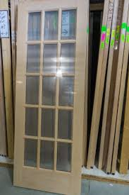 15 light french door new wood doors interior exterior demxx deconstruction inc